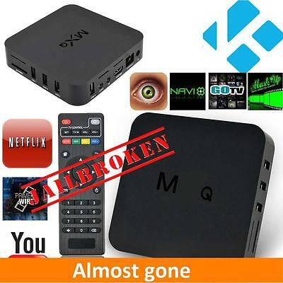 MQ Android 4.4 Smart TV Box Quad Core Media Player XBMC HDMI Fully Loaded EH