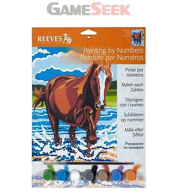 Reeves Junior Paint by Numbers - Pony