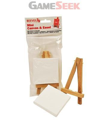 Reeves Mini Canvas and Easel