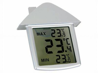 Transparentes Fenster-Thermometer