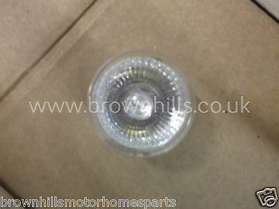 MOTORHOME CARAVAN & MARINE 12v 10W MR11 35mm 18 DEGREE DICHROIC HALOGEN BULB