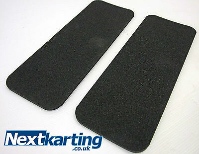 2 PIECE KART SEAT SELF-ADHESIVE FOAM 5mm -FOR REAR OF SEAT -ROTAX IAME