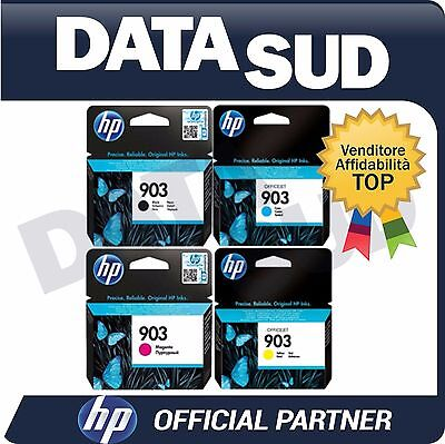 CARTUCCE HP 903 ORIGINALI BK/C/M/Y INK-JET PER HP OfficeJet Pro 6950,6960..