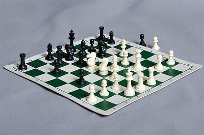 USCF Sales Miniature Chess Set Combination
