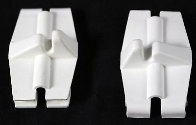 Pair (2) of Whirlpool Dishwasher Retainers Part # 3368629 Replacement for 522884