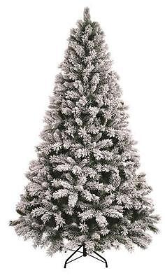 10ft Xmas Christmas Tree Large Tall 3M Green Snowstorm Snowy Artificial Indoor