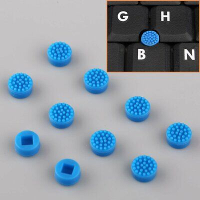 10x Laptop Keyboard Mouse Stick Point Blue Silicone Cap Trackpoint for HP Laptop