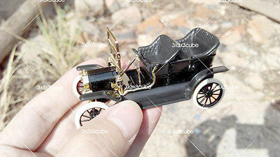 1/43 Scale EARLY NICE C.I.L. Ford Model T 1900s Diecast Model Classic Car Black