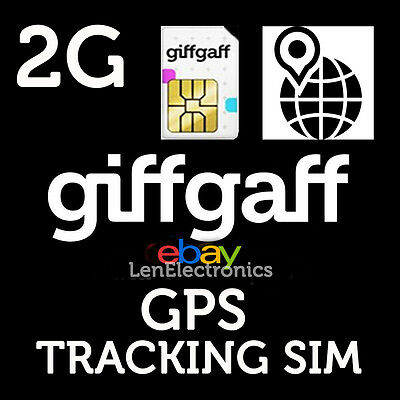 2G Sim Card For GPS Tracking Device, Tracker GSM vehicle child personal Pet PAYG