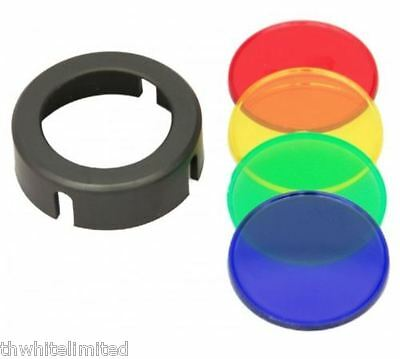 Clulite A67 Red-Amber-Blue-Green Colour Filters For MG125 Gunlight and ML7 (CH)