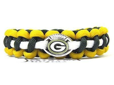 Green Bay Packers Paracord Armband-neuem NFL Charm-Männer Armband-Super Bowl