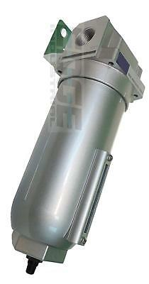 """1"""" Heavy Duty HIGH FLOW Particulate Filter Moisture water trap w/ Auto Drain"""