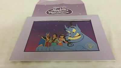 """Disney Exclusive Commemor, Lithograph 1996, """"Aladdin and King of Thieves"""""""