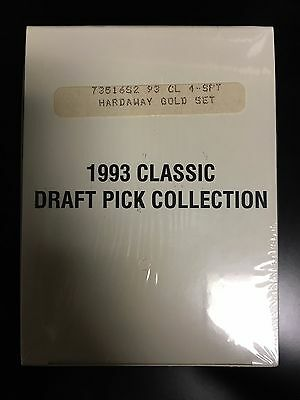 1993 Classic Draft Pick Collection Gold Factory Sealed Hardaway Webber  A1915