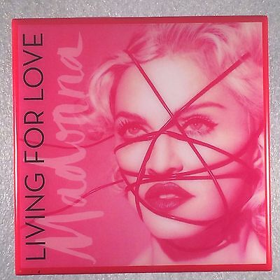 MADONNA Living For Love Record Cover Art Ceramic Tile Coaster