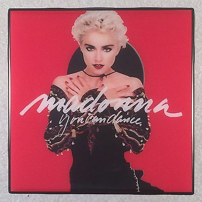 MADONNA You Can Dance Record Cover Art Ceramic Tile Coaster
