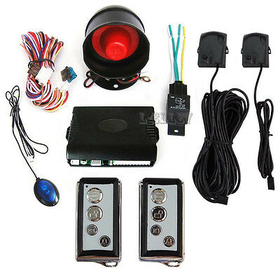 24V Truck Alarm Security System Car Alarms Protection With Keyless Entry Remote