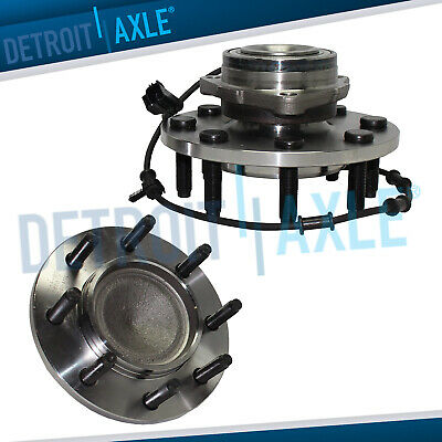Set (2) NEW Wheel Hub & Bearing Front for Ram Pickup Truck 2500 - 2WD w/ABS