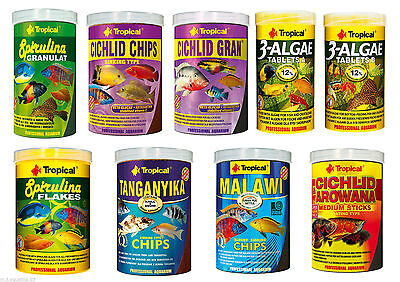 PROFESSIONAL SPECIALIST FISH FOOD FOR TANGANYIKA /  MALAWI Mbuna & AROWANA