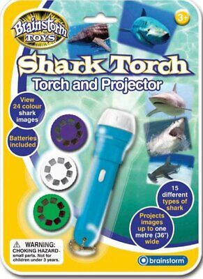 Children's Shark Torch and Projector Toy - Project Underwater Nature Photos