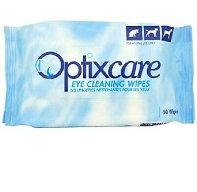 Optixcare Eye Cleaning Wipes Pack Of  50. Premium Service. Fast Dispatch.