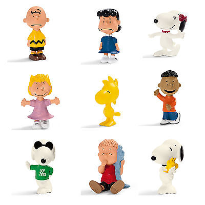 SCHLEICH PEANUTS FIGURES - Choice of 15 different inc Charlie Brown and Snoopy