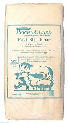 Natural Food Grade Diatomaceous Earth 50 Pounds LB, By Perma-Guard Pests