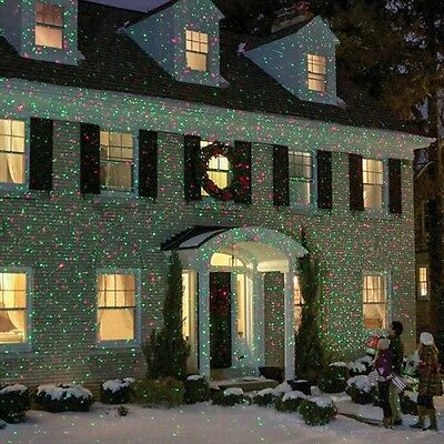 """Outdoor Christmas Lights Projector Bliss Like Firefly"""""""