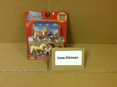 Grand Champions Horse Country 55020 Micro Mini Horse Collection Brown & Tan