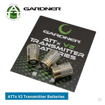 Gardner V2 ATTx / ATTs Extra Transmitter Batteries (pack of 3) - Carp Fishing