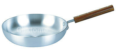 Wooden Handle Aluminium Frying Pan Chefs Pan Professional use 26cm 28cm 30cm