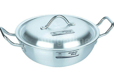 Aluminium Wok Stir Fry Karahi Cooking Pot Casserole  Deep Fryer 23cm to 33cm