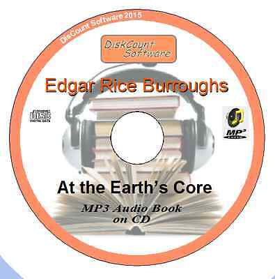 At the Earth's Core - Edgar Rice Burroughs MP3 Audio Book 15 chapters on CD