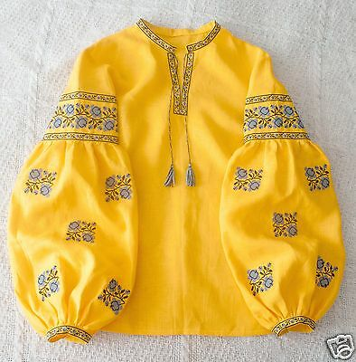 Ukrainian boho embroidered blouse Vita Kin style, vyshyvanka, shirt 3 models