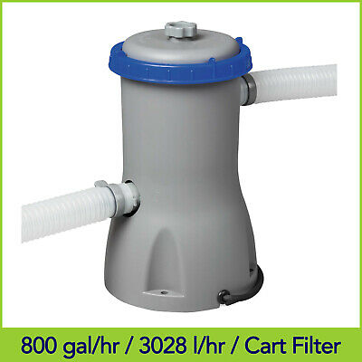 800gal/3028L Bestway Flowclear Swimming Pool Cartridge Filter Pump - 58386