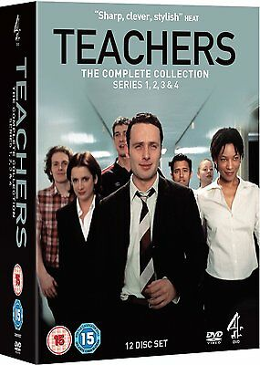 TEACHERS - Complete TV Series 1-4 Collection Boxset (NEW DVD)