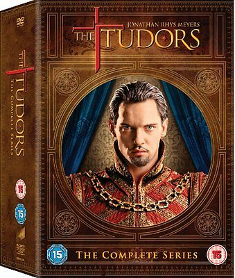 THE TUDORS - Complete Series 1 2 3 4 Collection Boxset NEW DVD