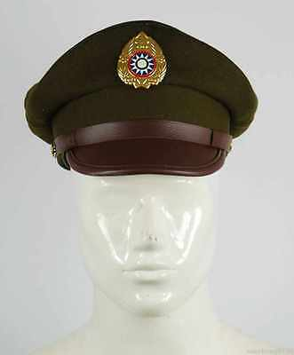 Ww2 Chinese Nationalist Forces Kmt Kuimingtang Army Wool Service Cap Size L
