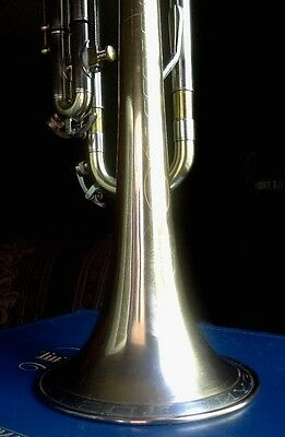Contempora 1966 L Bore Bb Reynolds  Lacquered Brass Trumpet with Double Case