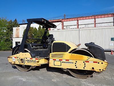 2008 Bomag BW278AD Vibratory Smooth 78 in Double Drum Compactor Asphalt Roller