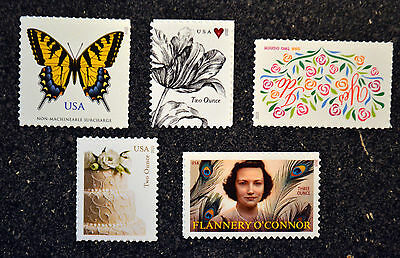 USA2015 71c 93c High Value Stamp Set of 5 - 4999 5000 5001 5002 5003 two ounce
