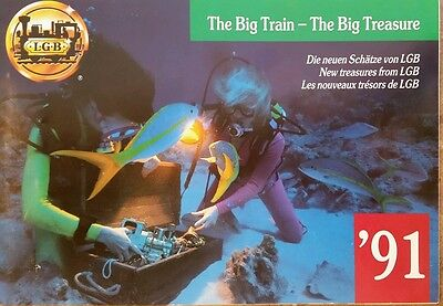 LGB The Big Train -The Big Treasure Catalog  (91) #3.6-1011017