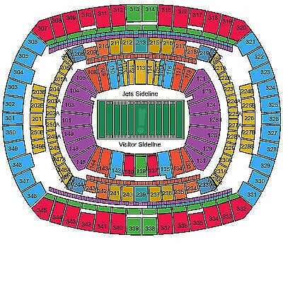jacksonville jaguars at new york jets 11 8 15 2 tickets lower level. Cars Review. Best American Auto & Cars Review