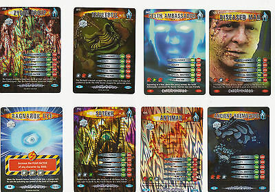 Battles in Time Super Rare cards: choose yours! Doctor Who.