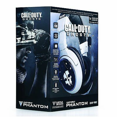 Turtle Beach Ear Force PHANTOM Call of Duty: Ghosts Wireless Headset, Ps3, Ps4