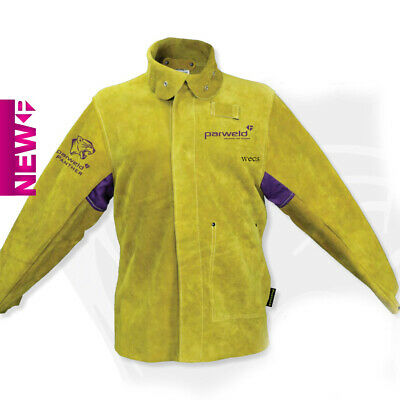 Parweld Panther Leather Welders Welding Jacket SIZE M, L, XL, XXL