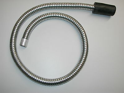 "Boiler Soot Cleaning Flexible Vacuum Cleaner Snake Hose 48"" Free Shipping"