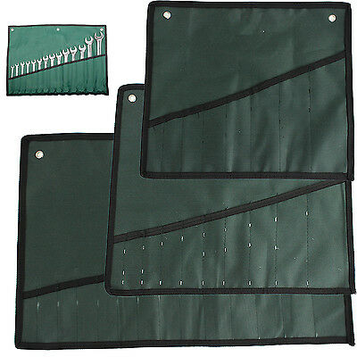 Best 8 10 14 Pocket Canvas Spanner Wrench Tool Roll Up Storage Bags Organizer