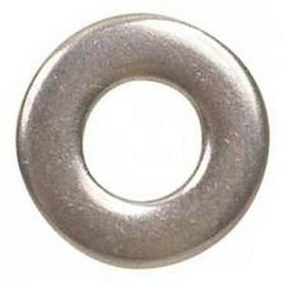 Stainless Steel #6 Flat Washer 50 Pack