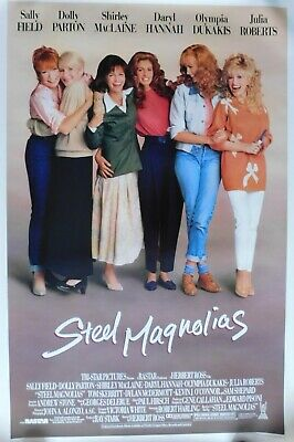 "Steel Magnolias 1989 Original 27""X41"" Single Sided Movie Poster ""Sally Field"""